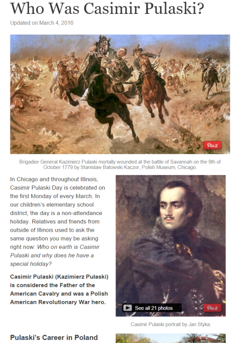 Learn more about our Polish American Revolutionary War hero.